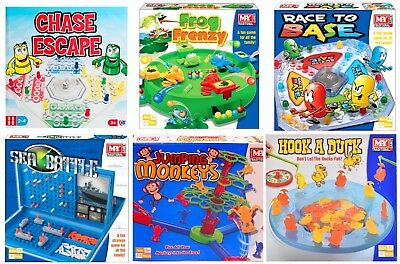 Classic Traditional Family Board Games Modern Kids Childrens Indoor Gift Toys 3