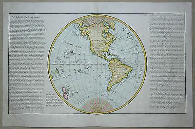 De l'Amerique en general - Gesamtamerika - Von Jean Baptiste Louis Clouet - 1787