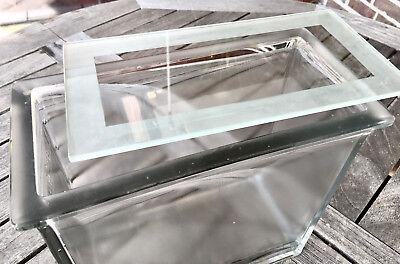 Apotheker - Chromatographie - Glas - Schauglas - sehr schwer - Alt und Schick! 2