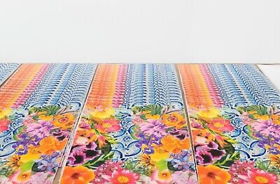 "Carlos Rolon Gild the Lily (Caribbean Azulejo), 2019 Ltd Ed Signed Print 24""x18"" 5"