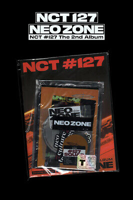 NCT 127 NEO ZONE 2nd Album T Ver CD+Photo Book+3Card+7Sticker+Poster+GIFT SEALED 8