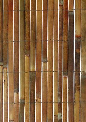 10m x 2m Bamboo Slat Screening -  Screen Roll -  Fence - Garden Fencing Fence 2