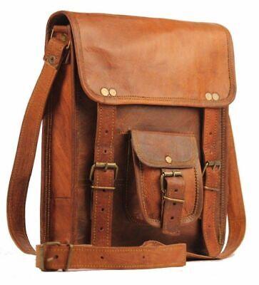 Aktentasche Umhängetasche Lehrertasche Schultasche Leder Tasche spitze Indian 7