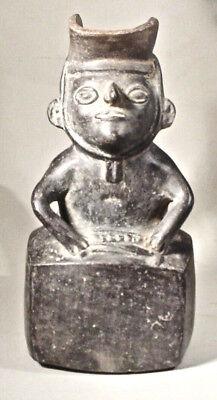 Pre-Columbian Dignitary Vessel Moche V W/Coa 8
