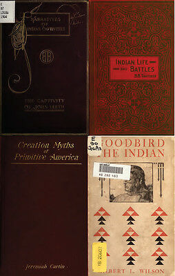 250 Old Books On Native American Indians, History, Culture, Chiefs, Wars & More 4
