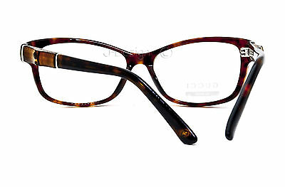 38ab5e92f0f 11 of 12 GUCCI GG 3673 WR9 Havana 53 15 130 Eyeglasses Rx Made in Italy -