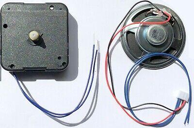 Quartz movement chiming clock kit set or parts, Young Town 12888, shaft 14mm, UK 8