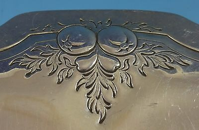 Reed and Barton Sterling Silver Cookie Plate w/Chased Urns Fruit #800 (#1413) 3