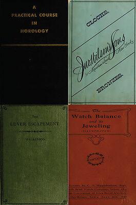 125 Rare Books On Horology, Pocket Watch, Clock, Sundial, Repair & More-Vol1 Dvd 4