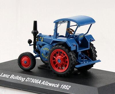 lanz bulldog d7506a blau 1952 traktor 1 43 hachette uh. Black Bedroom Furniture Sets. Home Design Ideas
