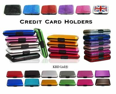 RFID CREDIT CARD HOLDER Case Protector Waterproof Anti-Theft Contactless Block 4