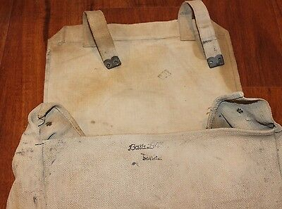 caee64d2f1 ORIGINAL WWII 1943 Military Canvas Bag Backpack by BATA - $39.99 ...