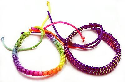 Kinder Regenbogenfarbene Armbänder Einzeln//Freundschaft//CSD//Frühjahres-Armbänder