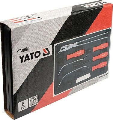 Universal Trommelbremse Bremstrommel Werkzeug Bremse Satz Set Auto Kfz Yato