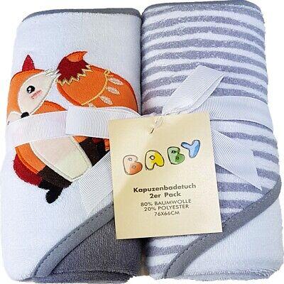 1940Blau Baby Geschenkset 2st Kapuzenbadetuch Badetuch Kinder Handtuch Geschenk