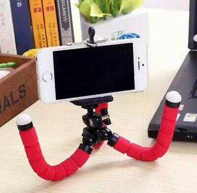 Treppiede cavalletto Flessibile supporto smartphone go pro telecomando Bluetooth 7