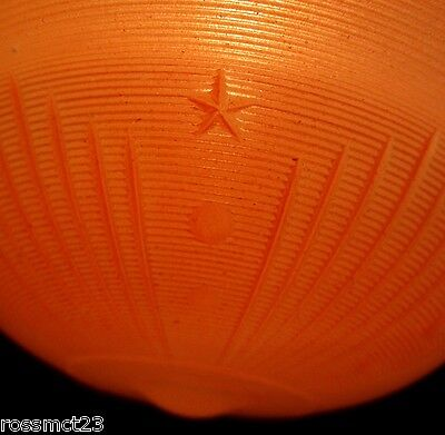 Vintage Lighting antique 1930s coral Bedroom Hall Foyer light   More Available 5