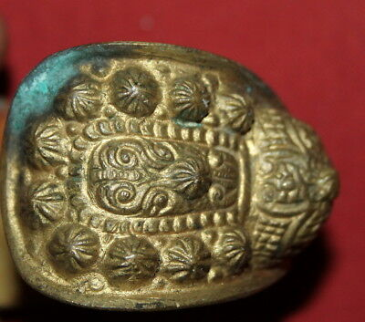 Ancient Greek Orthodox Folk Brass Fertility Bracelet 12