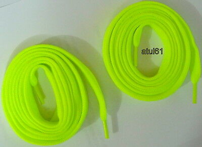 Flat Coloured Trainer Shoe Laces Skate Football Trainer gym Shoelaces NEW 4