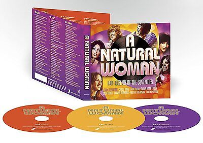 NEW SEALED 3 CD SET A NATURAL WOMAN HITS OF THE SEVENTIES / 70's ** ORIGINALS ** 2