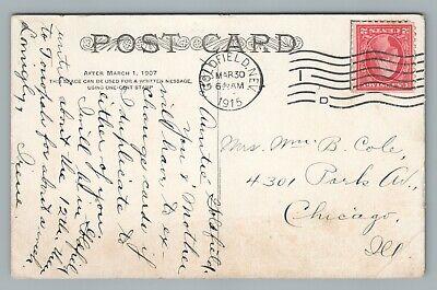 Great Mohawk Gold Mine GOLDFIELD Nevada—Antique Mining Postcard 1915 2