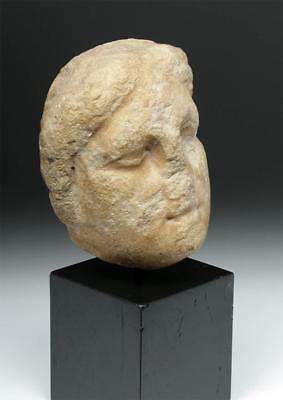 Hellenistic Greek Marble Head of Female Lot 31