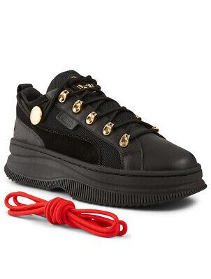RARE PUMA DEVA X Balmain Women's Sneakers Shoes Black CARA