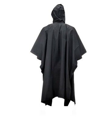 Chubasquero impermeable capa con capucha poncho 3
