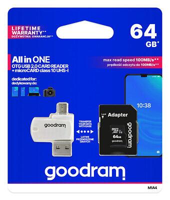 SD Speicherkarte 8/16/32/64/128GB micro SD Card Class10 SDHC SDXC inkl. Adapter 9