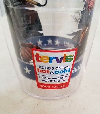 Rush Limbaugh Anchorman by Day Rush Revere by Night 16 oz Tervis Tumbler(2ifbyT) 6