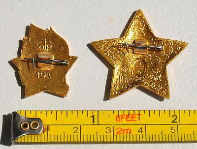 4pcs. RUSSIAN SOVIET USSR PIONEER VLKSM PIN MEDAL ORDER RED STAR AWARD BADGE WAR 7