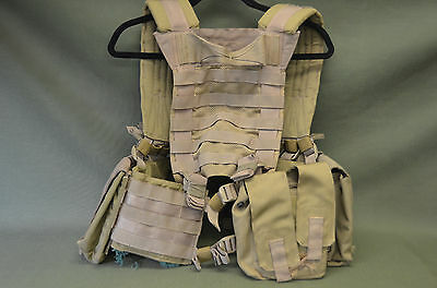 US NAVY SEAL DEVGRU Eagle H-Harness HG-VS-MS-KH MOLLE Saw Ammo ...