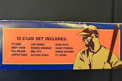 1992 Baseball Hall of Fame Heroes postage cards (Ty Cobb, Babe Ruth) 5