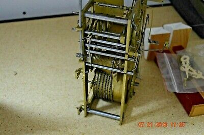 ANTIQUE Wide CUCKOO CLOCK MOVEMENT from Shelf/Mantle Cuckoo Clock 8