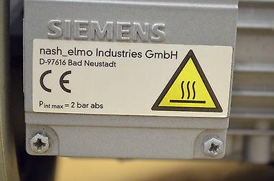 SIEMENS nash_elmo G200 2BH1400-7AH21-ZN  1,3kW Seitenkanalverdichter Vakuumpumpe
