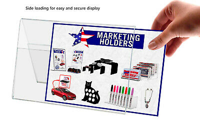 "A Frame Sign Holder 6""W x 4""H Double Sided Table Tent Ad Frame Display Qty 12 4"