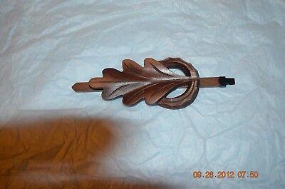 1 day Oak Leaf Cuckoo Clock pendulum set of 1 for project