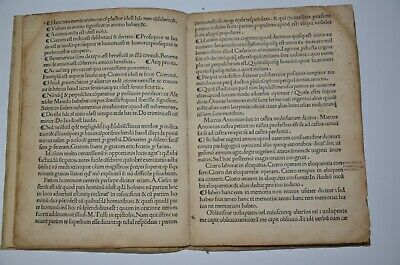 1494 incunabula AVGVSTINI DATTI SCRIBSE SENENSIS Rome Extremely rare antique 6