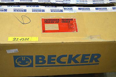 BECKER KVT 3.100 Drehschieber-Vakuumpumpe trockenlaufend NEU OVP