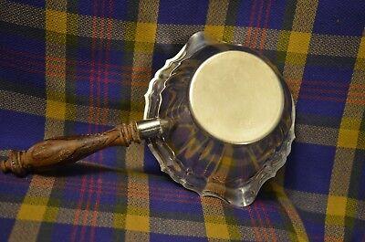 Vintage GORHAM #YC675 Wood Handled Silverplate Sauce Bowl