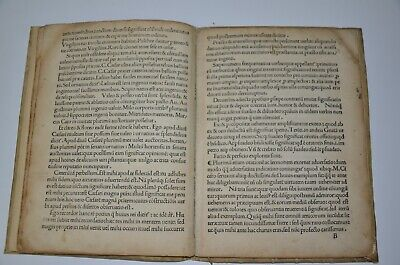 1494 incunabula AVGVSTINI DATTI SCRIBSE SENENSIS Rome Extremely rare antique 7