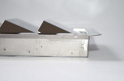 Grille d'aération 4 volets ( Moteur ) 205mmx112mm inox 316 3