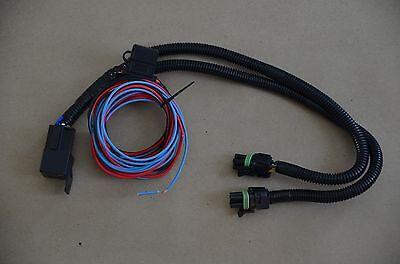 c3 corvette 68-82 electric headlight motor conversion kit / 3 wire  harness 2