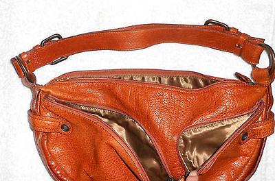 9cfc50c96c FRANCESCO BIASIA SAC à main cuir brun roux TBE - EUR 49,00   PicClick FR
