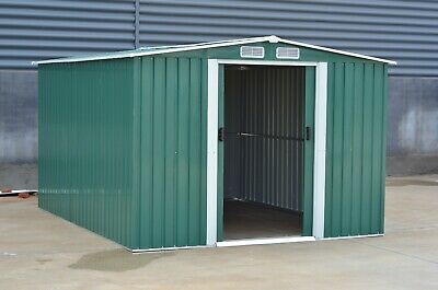 Mighty Metal Garden Shed Outdoor Storage House Tool Sheds with Free Foundation 2