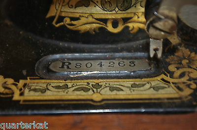 Singer Sewing Machines Antiques Vintage 1903 Hand Crank 6