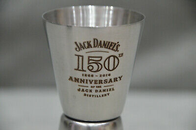 Jack Daniels 150th Anniversary Shot Measurer Double Jigger Limited Edition BNIB