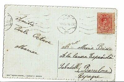 CPA-Carte postale- Espagne- Madrid- Banco de Espana--1918  - VM3219 2