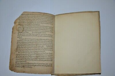 1494 incunabula AVGVSTINI DATTI SCRIBSE SENENSIS Rome Extremely rare antique 11