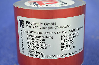 TR Electronic Drehgeber CEW 58 M NEU OVP